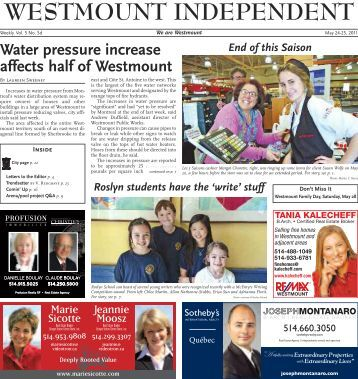 May 24 - Westmount Independent