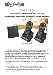 V4 DECT Phone Feature List - Eibmarkt