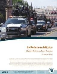 La Policía en México_Muchas Reformas Pocos Avances