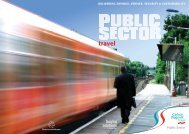 Download our Public Sector brochure - Carlson Wagonlit Travel