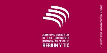 Tríptico Jornadas - Universidad Politécnica de Valencia