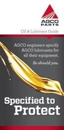 LubricantBrochure 5 - AGCO Parts