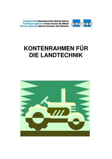 SMU Kontenrahmen für die Landtechnik (PDF)