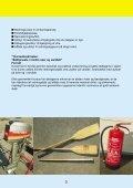 Sikkerhed ved sejlads med redningsbåde - BAR transport og engros - Page 5