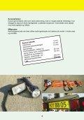 Sikkerhed ved sejlads med redningsbåde - BAR transport og engros - Page 6