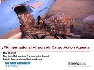 JFK International Airport Air Cargo Action Agenda - New York ...