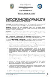 an order designating ms. efrena a. buenafe as officer in ... - Jagna