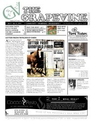 July 22, 2010 - The Grapevine