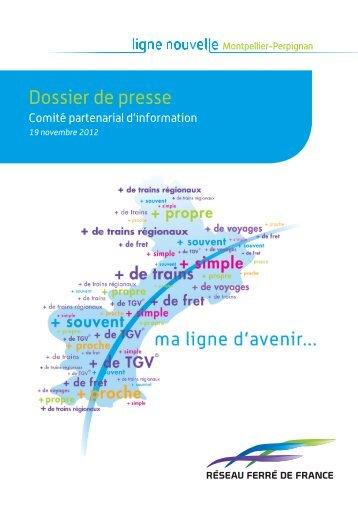Comité partenarial d'information du 19 novembre 2012 (pdf ... - RFF