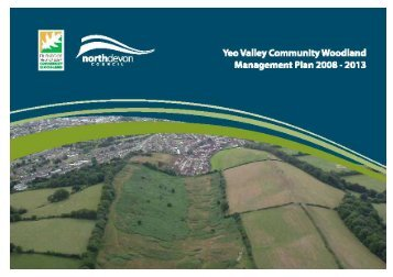 Yeo Valley Management Plan - North Devon District Council
