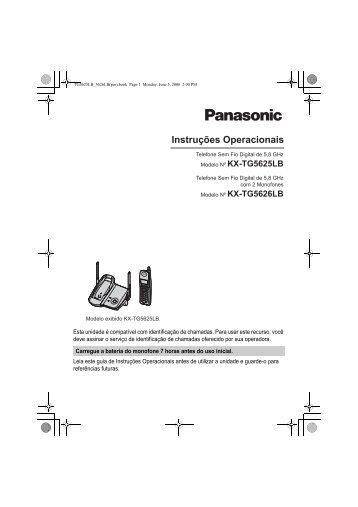 KX-TG5626LB.pdf - Panasonic