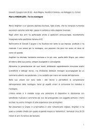 Marco Scrosati - Dipartimento di Informatica e Comunicazione