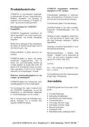 Produktbeskrivelse Anvendelse - Wallmann A/S