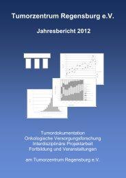 Tumorzentrum Regensburg e.V. Jahresbericht 2012