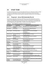 35. STUDY TEAM - Arrow Energy