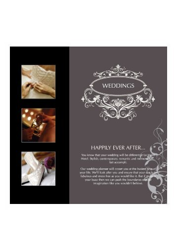 Download Wedding Pack - Malin Hotel