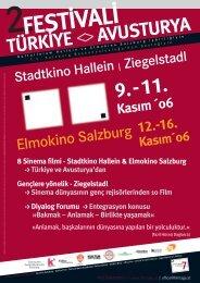 Stadtkino Hallein & Elmokino Salzburg -> Türkiye ve Avusturya'dan ...