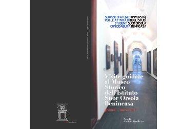Scarica la brochure - Istituto Universitario Suor Orsola Benincasa