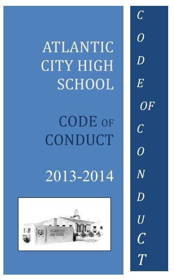 ACHS Code of Conduct - Atlantic City High School