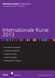 Internationale Kurse - Linguarama