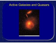 Active Galaxies and Quasars - FSU Physics Department