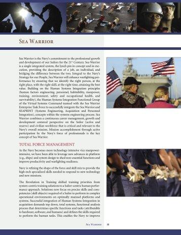 Sea Warrior - U.S. Navy