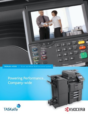 Powering Performance... Company-wide