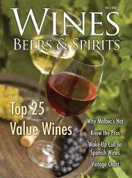 Top 25 Value Wines - Wines, Beers & Spirits