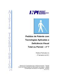 Tecnologias Aplicadas a Deficiência Visual Total ou Parcial - Inpi