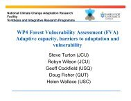 WP4 Forest Vulnerability Assessment (FVA) - National Climate ...