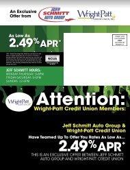 jeff schmitt hours - Wright-Patt Credit Union