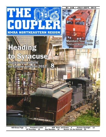 Coupler 246-w - north eastern region, nmra