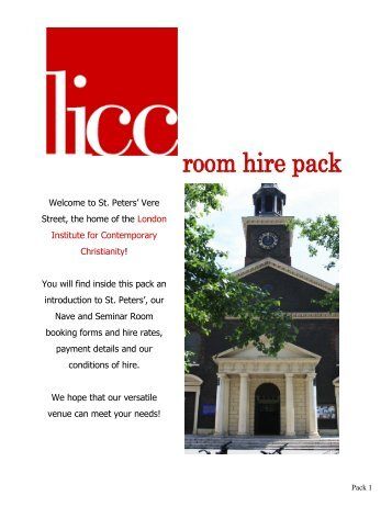An Introduction To St. Peters - The London Institute for ...