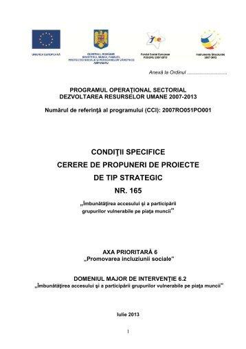 Ghidul Solicitantului – Conditii Specifice DMI 6.2 - Ministerul ...