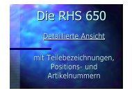 Ersatzteilliste RHS 650 - WAECO - AirCon Service