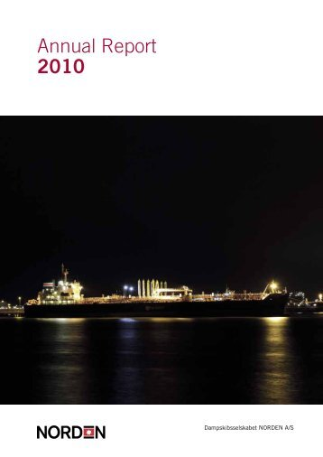 Contents Annual Report 2010 - DS Norden