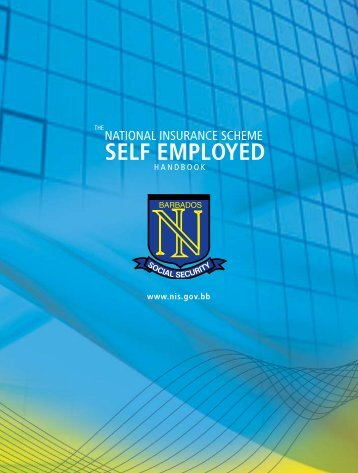 Handbook for Self-employed Persons - National Insurance Scheme