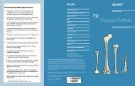 T2 Product Portfolio - Stryker