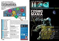 COSMOMANIA - Cap Sciences