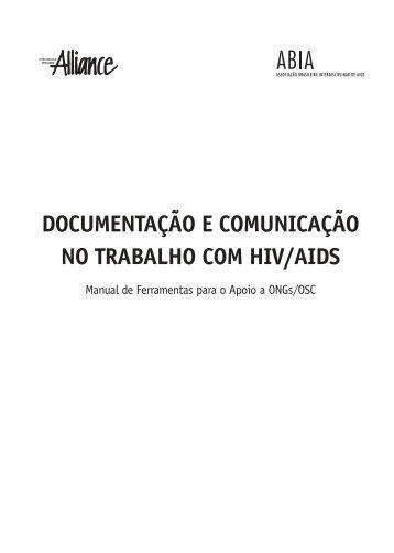 documentação e comunicação no trabalho com hiv/aids - Abia