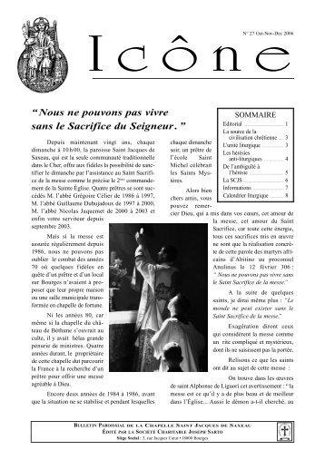 Icône n° 27 de d'octobre-novembre-décembre 2006 - La Porte Latine