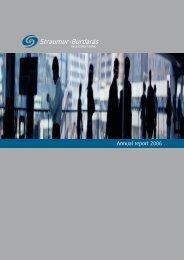 Annual report 2006 - BTB