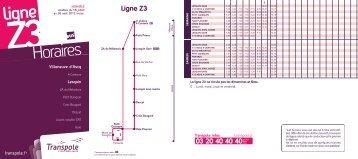 Ligne Z3 - Transpole