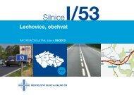 Silnice I/53 Lechovice, obchvat - Ředitelství silnic a dálnic