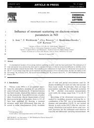 Influence of resonant scattering on electron-swarm parameters in NO