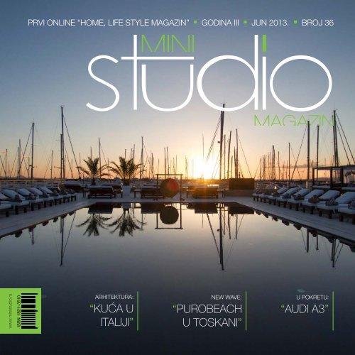 Kuća u ItalIjI - Mini Studio Magazin