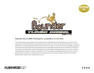Bounder Diesel 2000: Pushing the competition to the ... - RVUSA.com