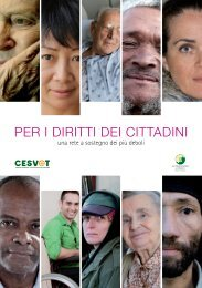 Per i diritti dei cittadini una rete a - Cesvot