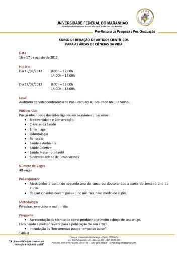 uploads/files/Requisitos para inscrição.pdf - Pró-Reitoria de ...