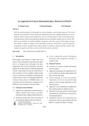 An Approach for Generic Information Query Retrieval in Web2.0